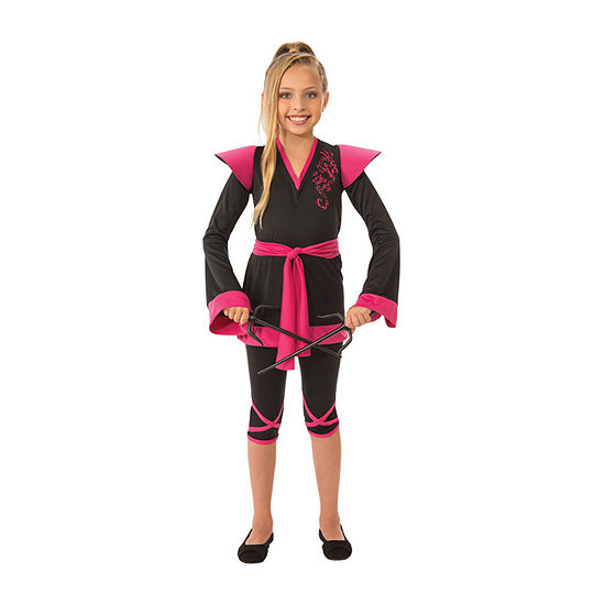 Girls Ninja Girl Costume