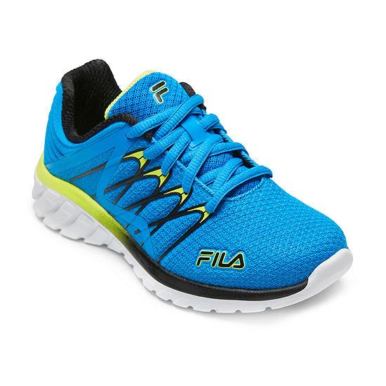 Fila Shadow Sprinter 4 Little Kids Boys Running Shoes