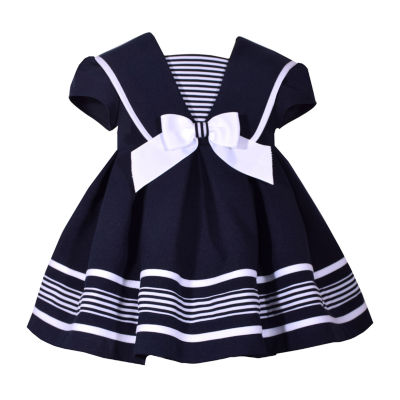Bonnie Jean Toddler Girls Short Sleeve A-Line Dress