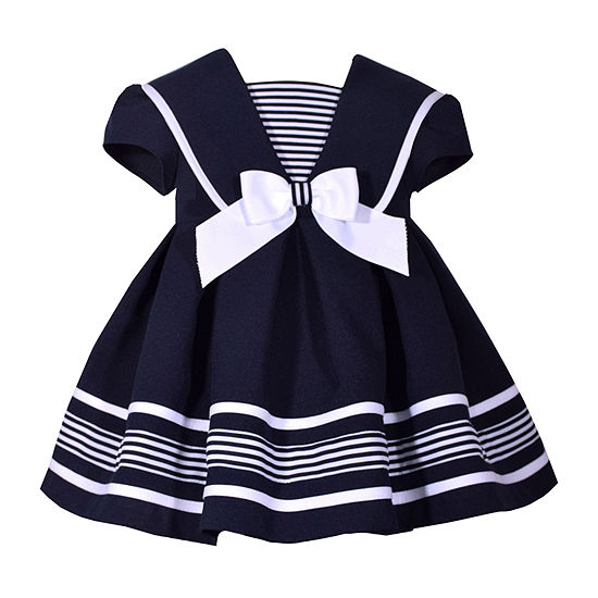 Bonnie Jean - Toddler Girls Short Sleeve A-Line Dress