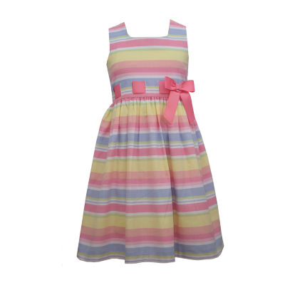 Bonnie Jean Little & Big Girls Sleeveless Striped A-Line Dress