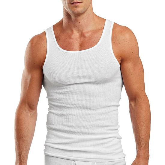 Hanes® 3-pk. Ultimate X-Temp™ A-Shirts - Big & Tall
