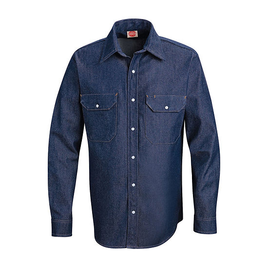Red Kap® Deluxe Denim Shirt