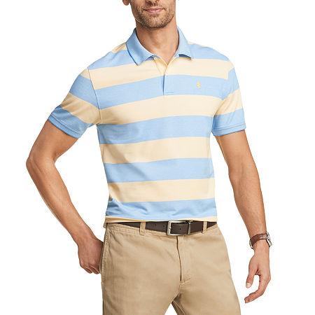 Mens Vintage Shirts – Retro Shirts IZOD Advantage Performance Mens Cooling Short Sleeve Polo Shirt Small  Yellow $13.99 AT vintagedancer.com