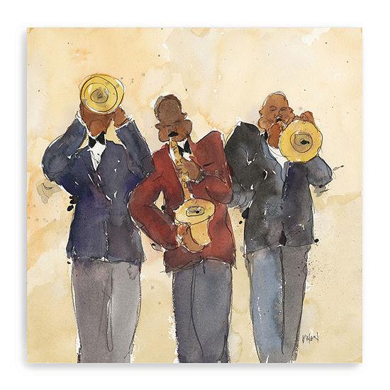 Jazz Trio I Giclee Canvas Art