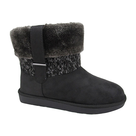 Pop Womens Stoneham Flat Heel Booties