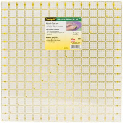 """Omnigrid 15x15"""" Quilter's Square"""