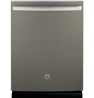 GE Profile™ ENERGY STAR® Stainless Interior Dishwasher with Hidden Controls