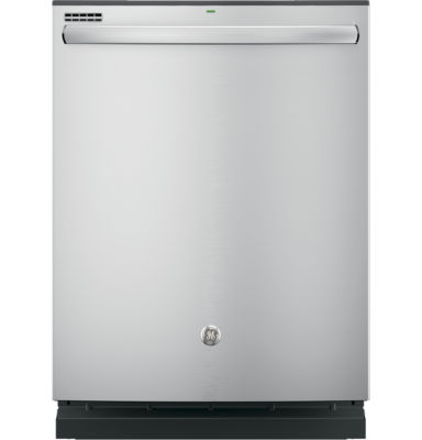 GE® ENERGY STAR® Hybrid Dishwasher with Stainless Steel Interior and Hidden Controls