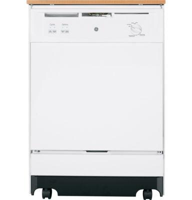 GE® ENERGY STAR® Convertible Portable Dishwasher