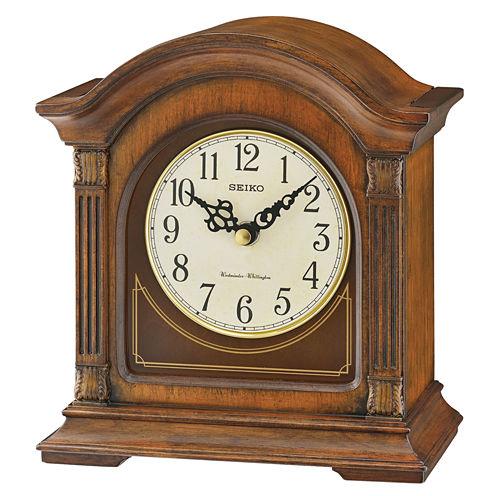 Seiko Traditional Classics Cream Mantel Clock-Qxj029blh