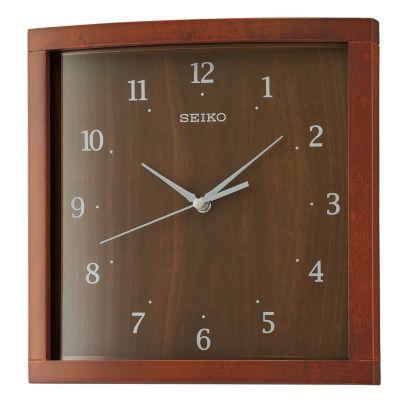 Seiko Brown Wall Clock-Qxa675zlh