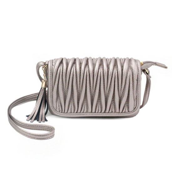 Olivia Miller Emery Pebbled Grain Quilted Crossbody Bag