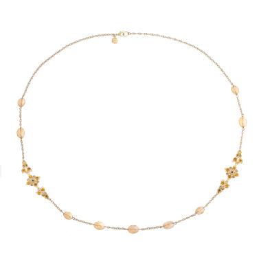 Monet Jewelry Monet Jewelry Womens Blue Strand Necklace