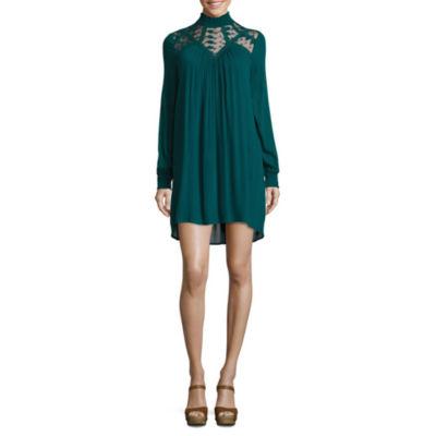 Hint of Mint Lace A-Line Dress