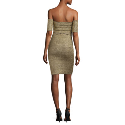 Renn Off Shoulder Bodycon Dress