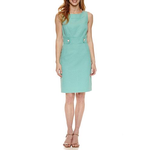 Chelsea Rose Sleeveless Confetti Sheath Dress