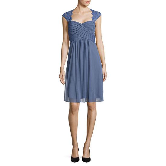 Scarlett Sleeveless Midi Empire Waist Dress