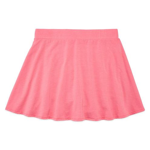 Total Girl Jersey Skater Skirt - Big Kid Girls