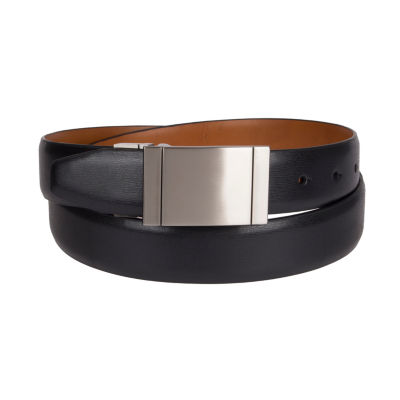 Collection Reversible Solid Belt - Big and Tall
