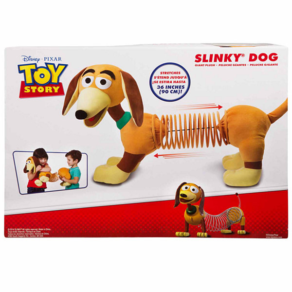 Slinky Giant Slinky Dog Plush