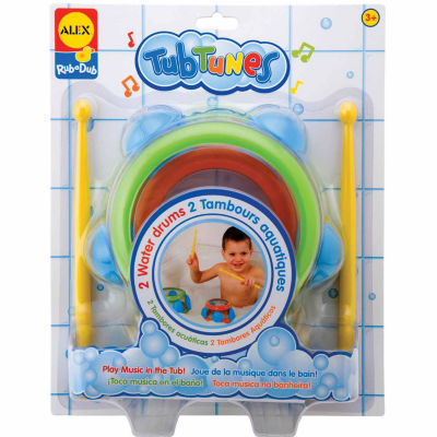 ALEX Toys Rub a Dub Tub Tunes Water Drums