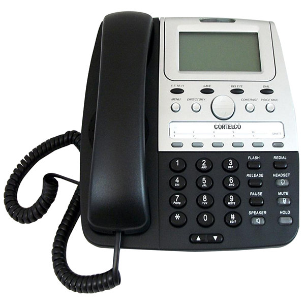Cortelco ITT-2730E Corded Feature Line Powered Telephone with Caller ID