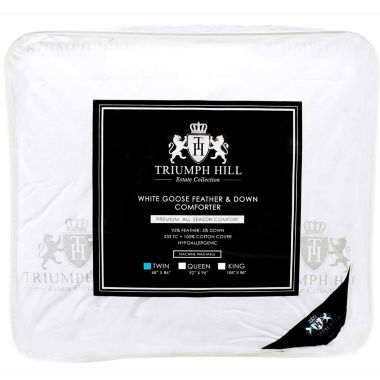 Triumph Hill Feather and Down Comforter