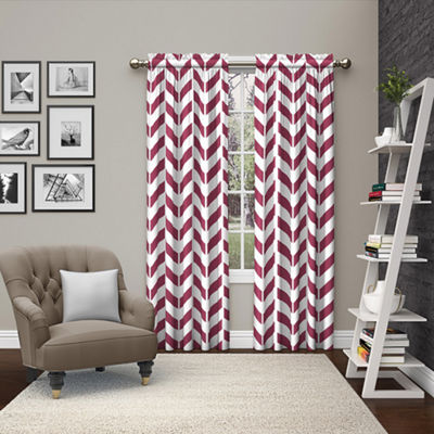 Ellery Homestyles Dewitt Rod-Pocket Curtain Panel