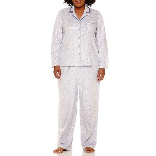 Earth Angels Dots Pant Pajama Set-Plus