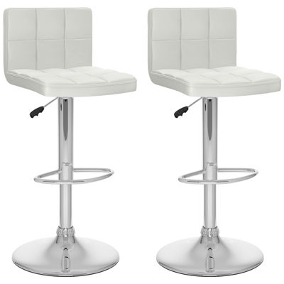High Back Adjustable 2-pc. Bar Stool