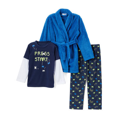 Bunz Kidz 3-pc. Pajama Set Boys