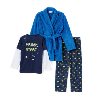 Bunz Kidz 3-pc. Pajama Set Boys