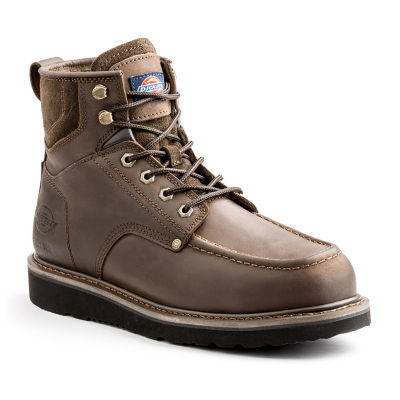 Dickies Mens Outpost Flat Heel Lace-up Work Boots
