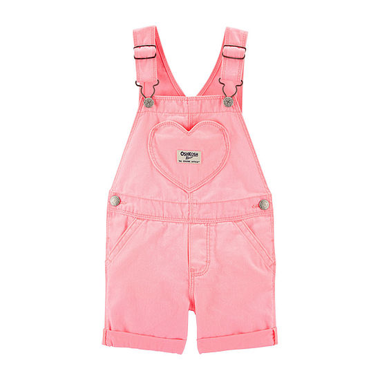 Oshkosh Shortalls Baby Girls