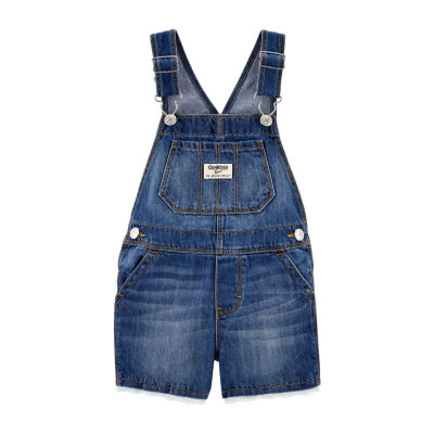 Oshkosh Shortalls - Baby Girls
