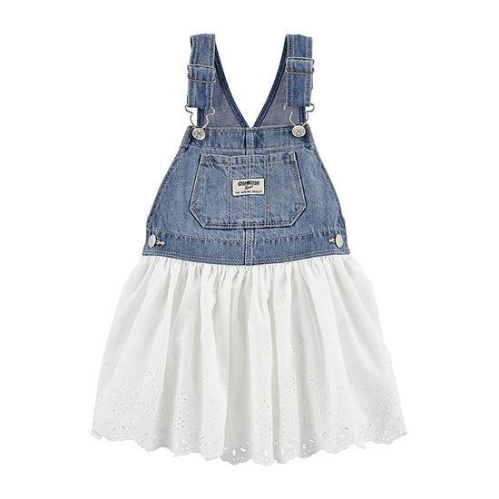 Oshkosh - Toddler Girls Jumpsuit