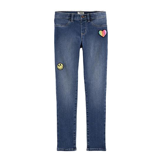 Oshkosh Girls Skinny Pull-On Pants - Preschool