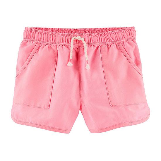 Oshkosh Girls Pull-On Short Preschool