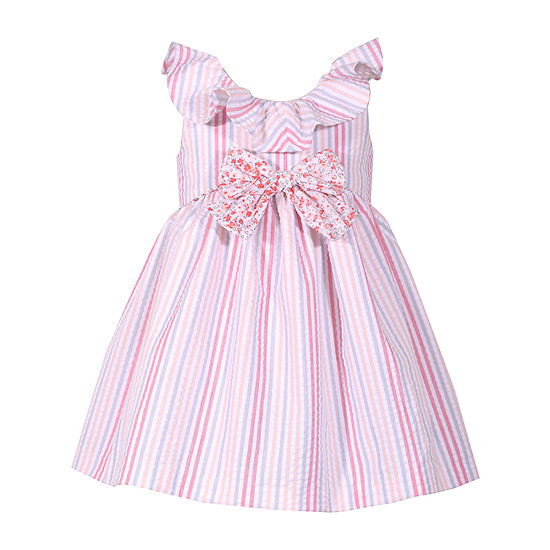 Bonnie Jean Girls Sleeveless A-Line Dress - Toddler