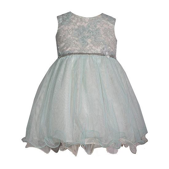 Bonnie Jean Sleeveless Party Dress Toddler Girls