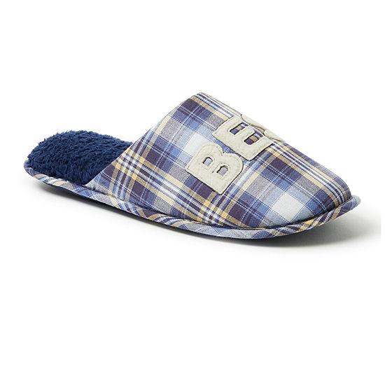 Dearfoams® 'Best Dad' Closed Toe Scuff Slippers