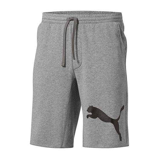 Puma Victory Fleece Mens Moisture Wicking Workout Shorts