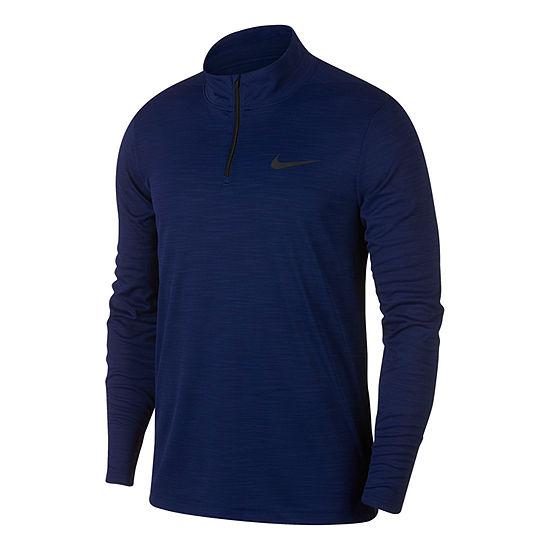 Nike Mens Superset Quarter-Zip Pullover