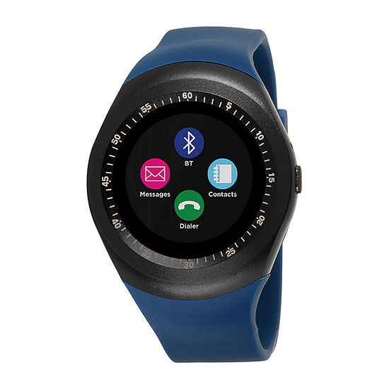 Itouch Curve Unisex Blue Smart Watch Itr4360b788 007