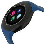 Itouch Curve Unisex Blue Smart Watch-Itr4360b788-007