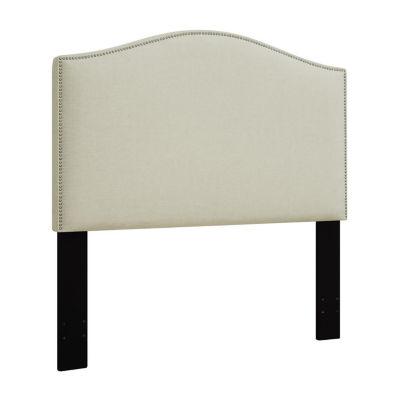 Camel Back Upholstered Headboard