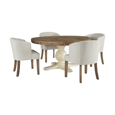 Signature Design by Ashley Reyna 5-pc. Round Dining Set