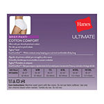 Hanes Ultimate™ Cool Comfort™ Cotton Ultra Soft 6 Pack Knit Brief Panty 40huc6