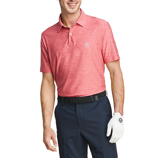 IZOD Mens Golf Title Holder Short Sleeve Polo